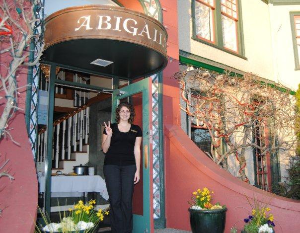 Larissa at Abigail\'s