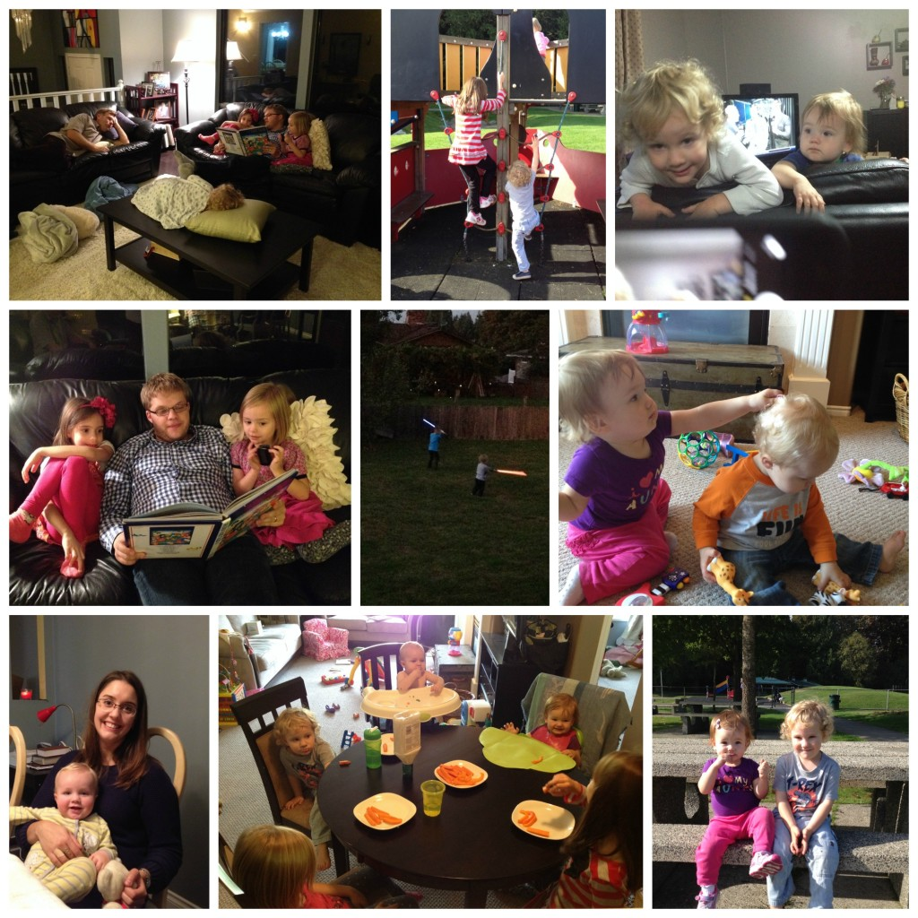 We also got to spend some good time with my siblings, nieces and nephew. I love that Calvin is now old enough to remember his cousins and have tons of fun with them!